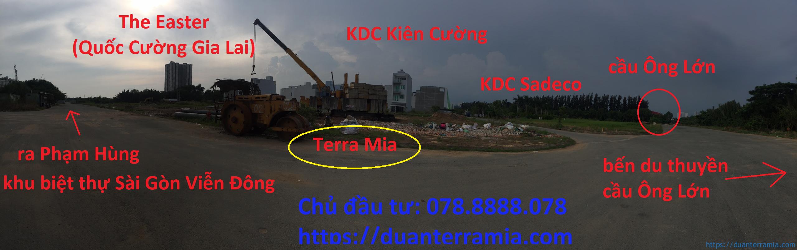 Các khu dân cư xung quanh Terra Mia Nam Sài Gòn