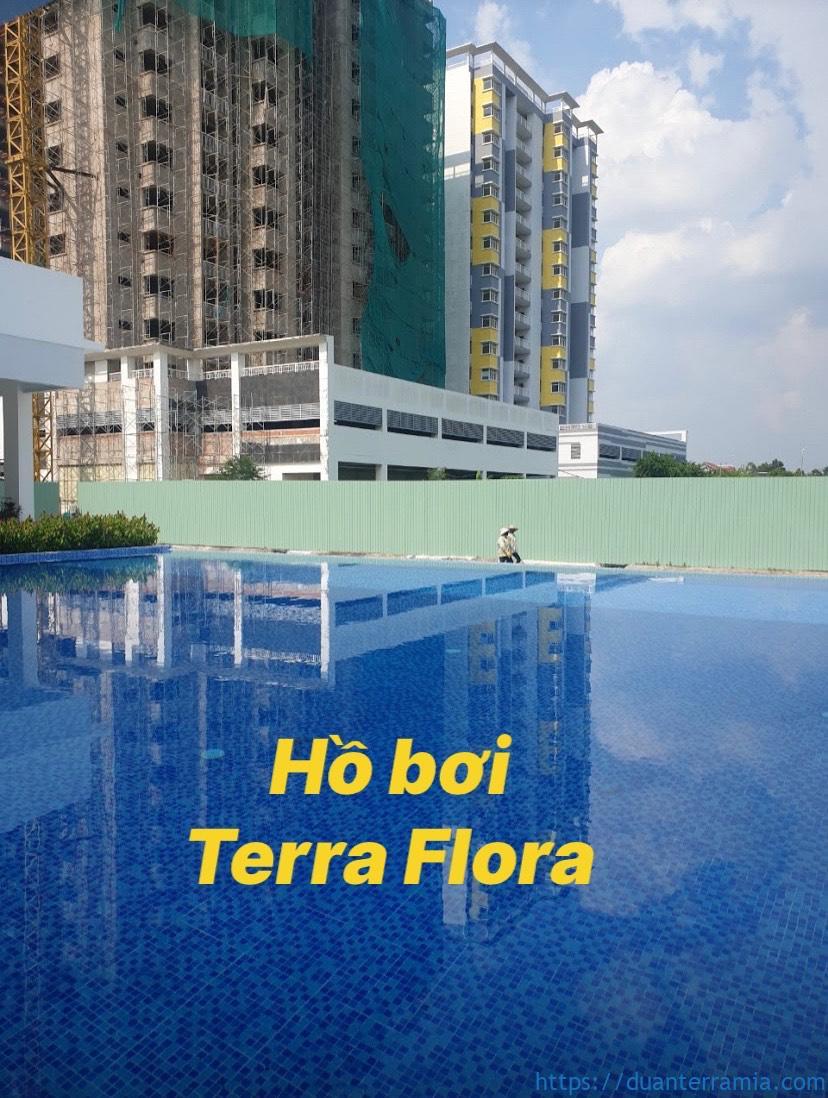 Hồ bơi căn hộ Terra Flora