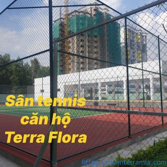 San tennis can ho Terra Flora