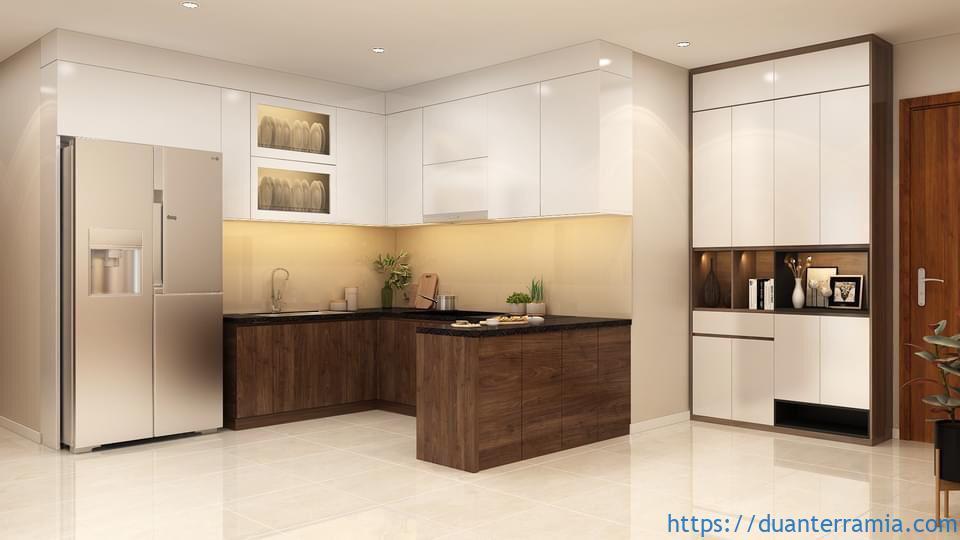 Thiết kế căn hộ Terra Mia 59.9m2