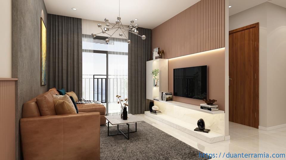 Thiết kế căn hộ Terra Mia 67.9m2