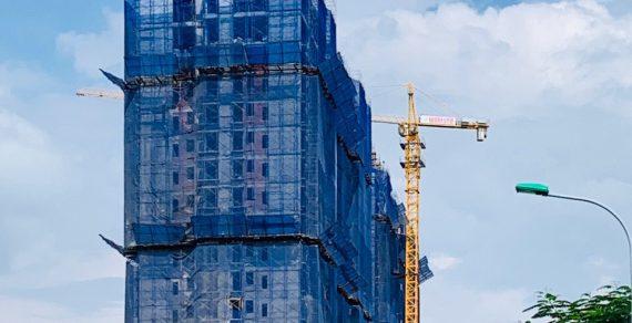 Dự án căn hộ Terra Mia chuẩn bị cất nóc Tháng 12.2020