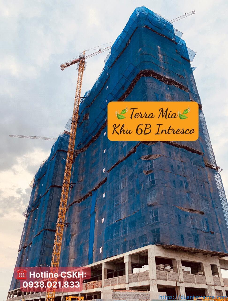 Cập nhật tiến độ xây dựng căn hộ Terra Mia T12.2020