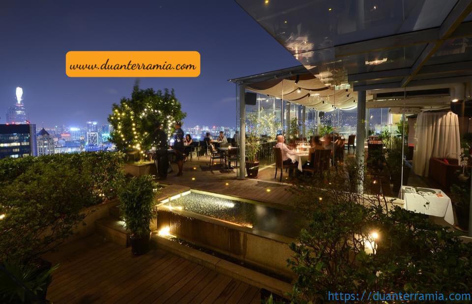 Cafe terrace sân thượng Terra Mia