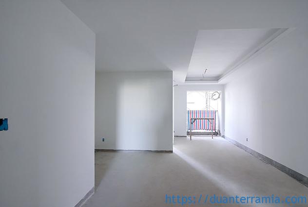 Thi công sơn căn hộ - Tiến độ dự án Terra Mia mới nhất Tháng 02.2021