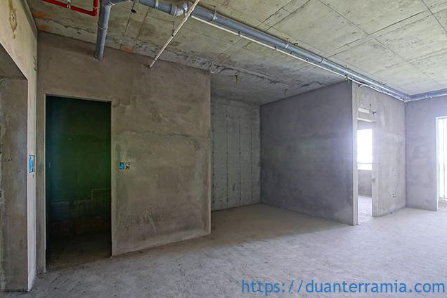 Thi công tô tường căn hộ - Tiến độ dự án Terra Mia mới nhất Tháng 02.2021