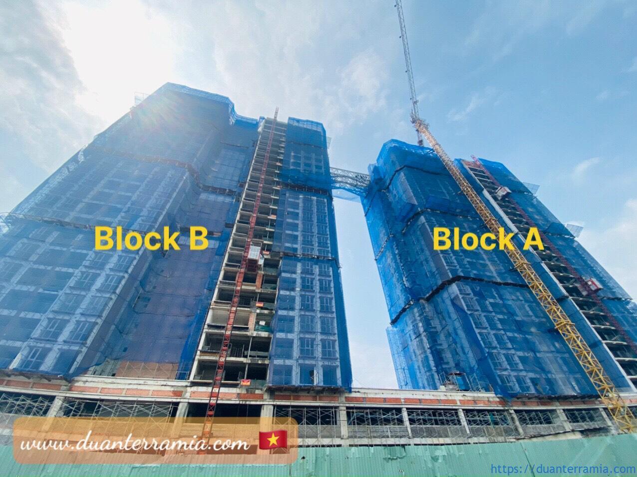 Cập nhật tiến độ xây dựng căn hộ Terra Mia Tháng 4.2021