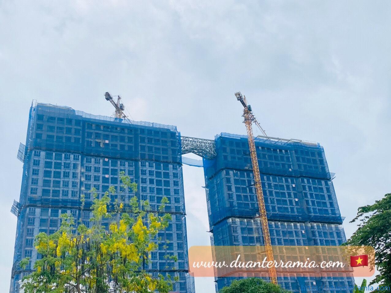 Cập nhật tiến độ xây dựng căn hộ Terra Mia mới nhất