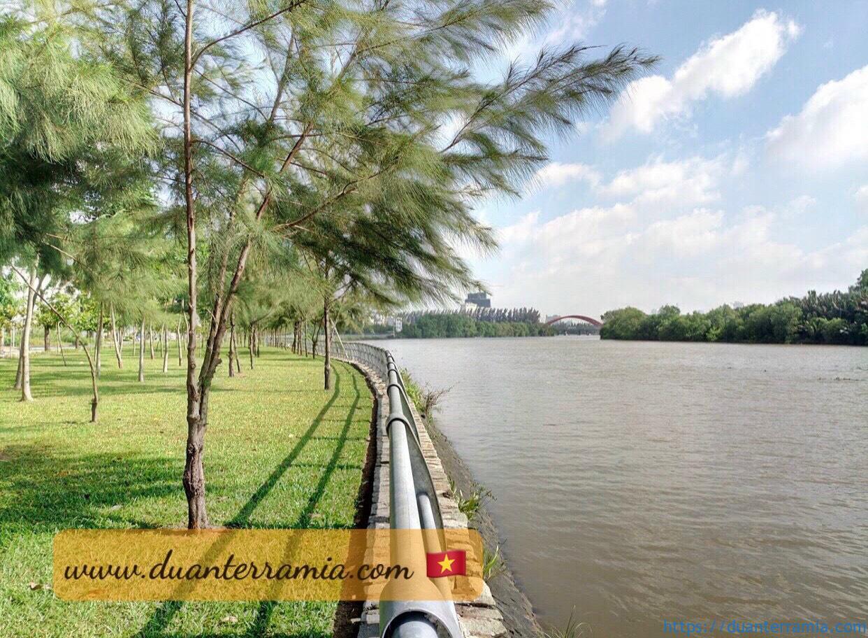Hình ảnh thực tế công viên căn hộ Terra Mia. Ảnh Chủ đầu tư Terra Mia