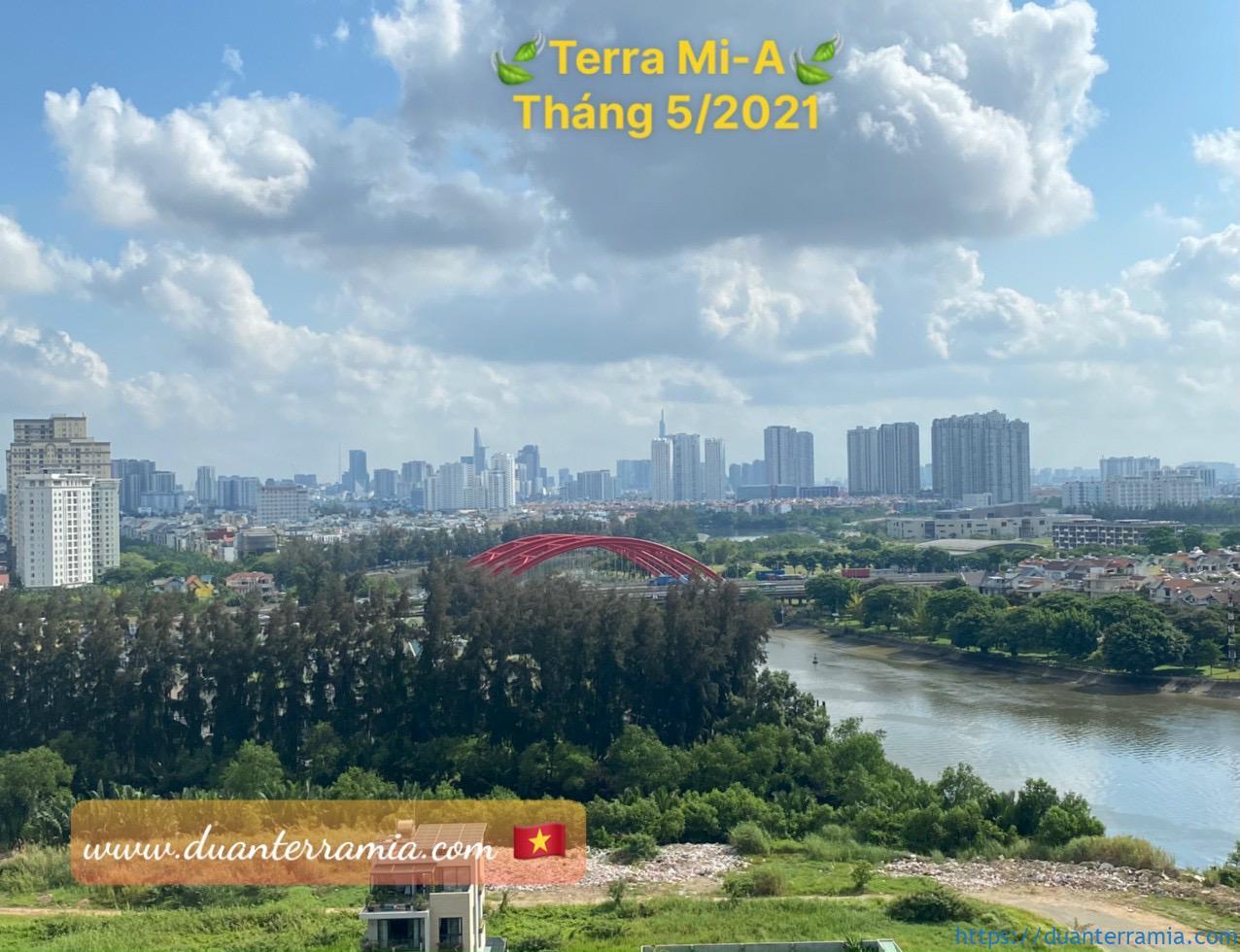 Hướng trọn view thành phồ trong tầm mắt tại Terra Mia