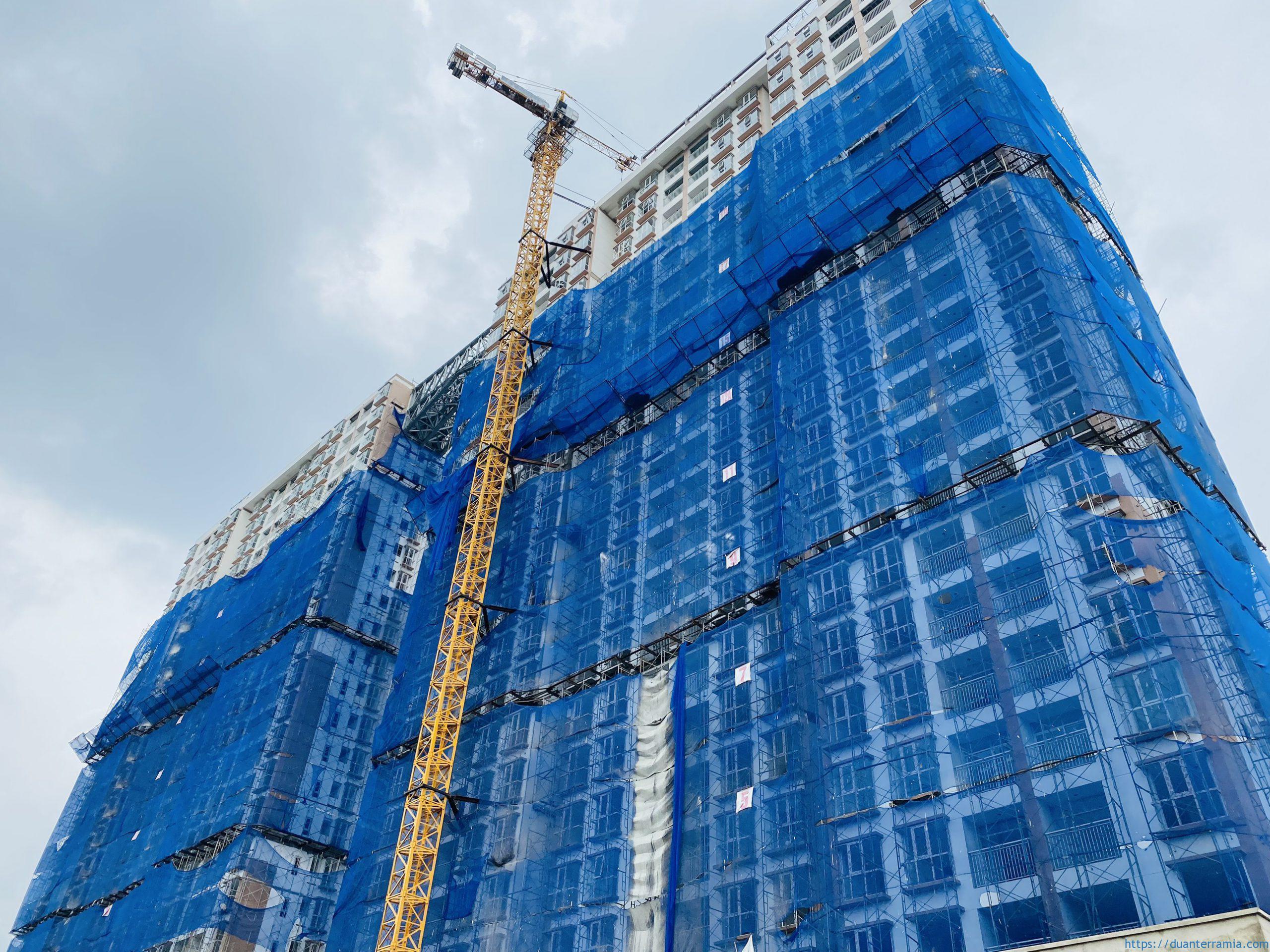 Cập nhật tiến độ công trình dự án căn hộ Terra MiA – Tháng 10.2021